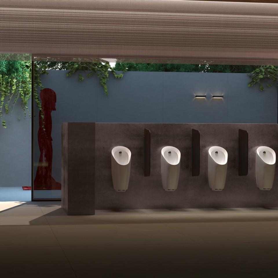 Arbeitsstätten, Urinale, Geberit Urinal Preda