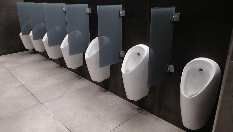 Urinal Selva von Geberit mit automatischer Spülauslösung
