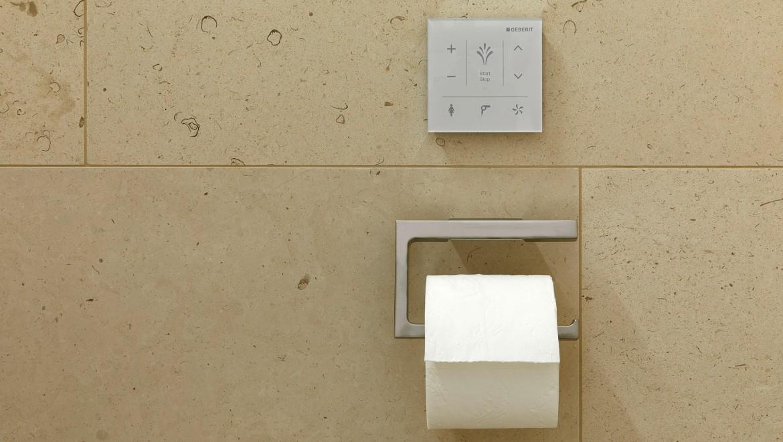 Wandbedienpanel für das Dusch-WC Geberit AquaClean Mera