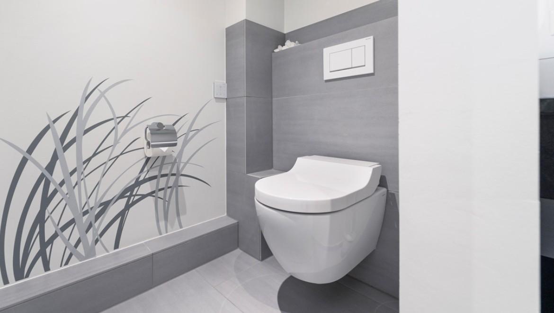 Dusch-WC Geberit AquaClean Tuma, Betätigungsplatte Geberit Sigma30