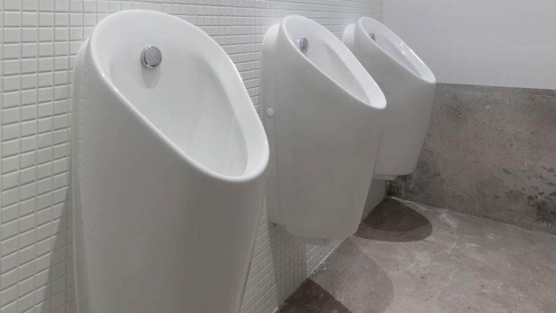 Geberit Urinalsystem Preda, Artspace KanyaKage, Berlin-Kreuzberg