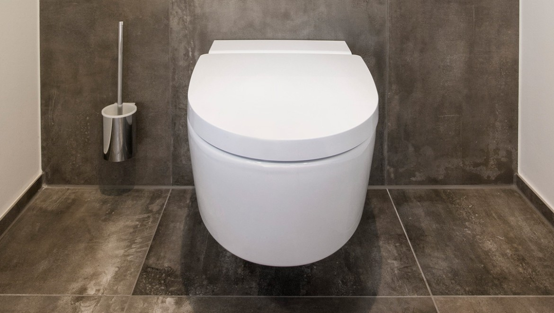 Dusch-WC Geberit AquaClean Mera Comfort, Betätigungsplatte Geberut Sigma80, Parkside Freudenstadt