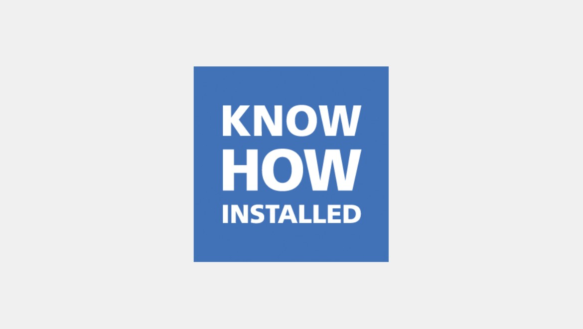 Icon, Know-How Installed