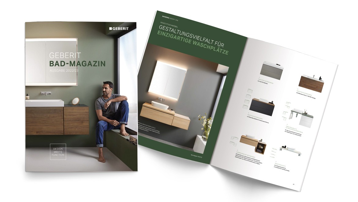 Geberit Bad-Magazin