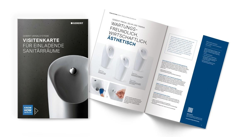 Produktlinienbroschüre Geberit Urinalsysteme