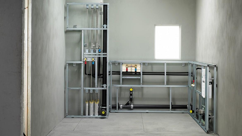 Geberit Rohrleitungssysteme zur Ver- und Entsorgung in der Anwendung