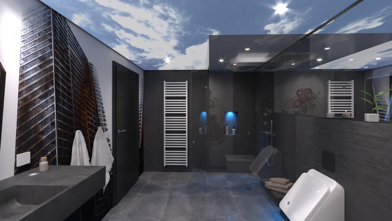 Dem Himmel sehr nah ist man in diesem Bad, das für Jugendliche konzipiert wurde.