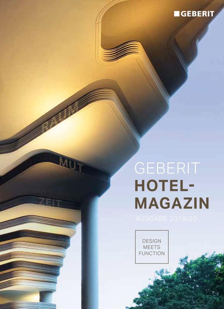 Cover Geberit Hotel-Magazin