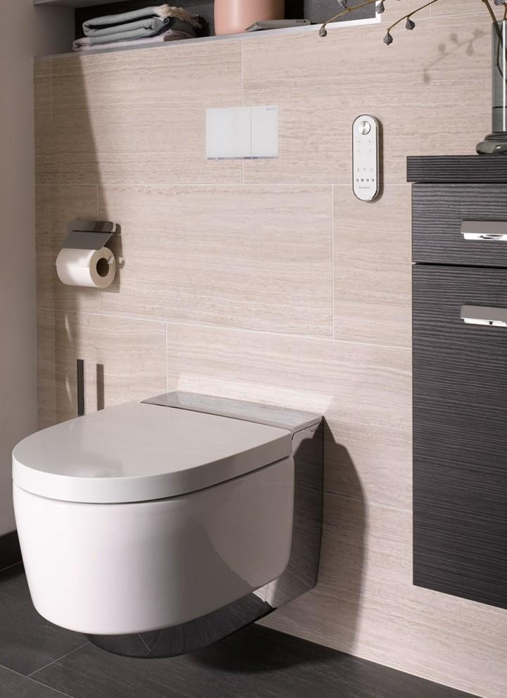 Dusch-WC Geberit AquaClean Mera, Betätigungsplatte Geberit Sigma70