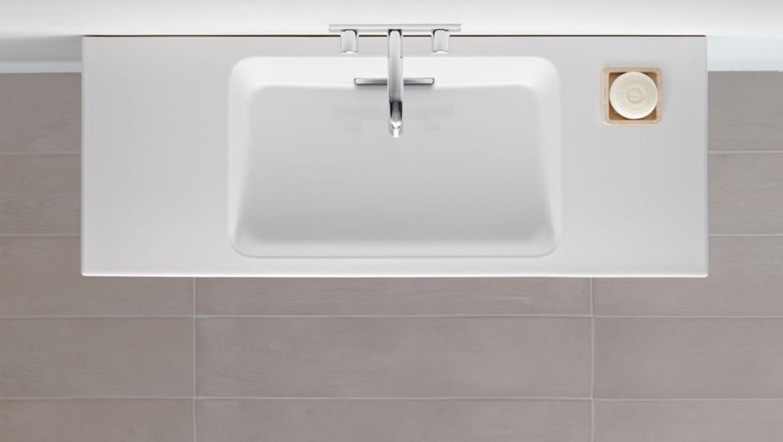 Funktionales Design für mehr Platz und Flexibilität am Waschplatz